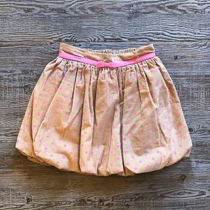 BabyGap girls bubble skirt in size 5